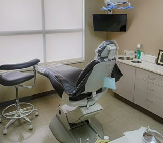 Patient's Dental Chair Back | Leawood, KS | S & G Family Dentistry, P.A.
